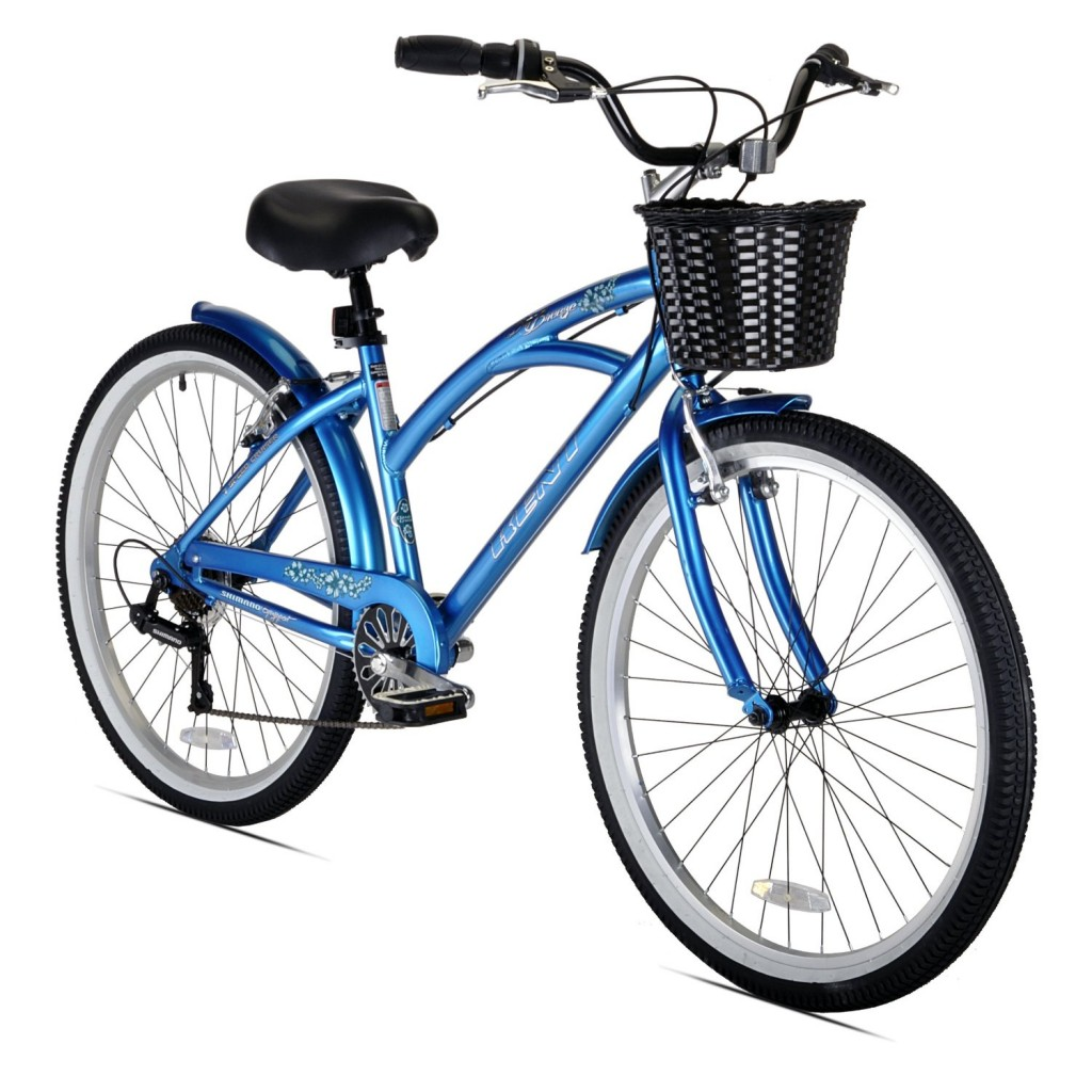 7-Speed Cruiser Bicycle, Metallic Blue