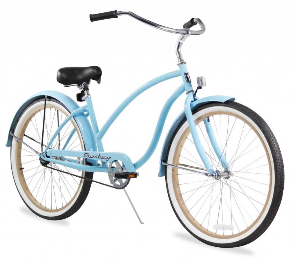cute baby blue bicycles for women