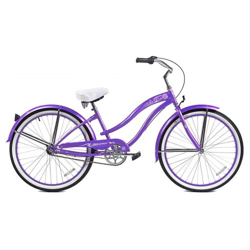 purple cruiser bike