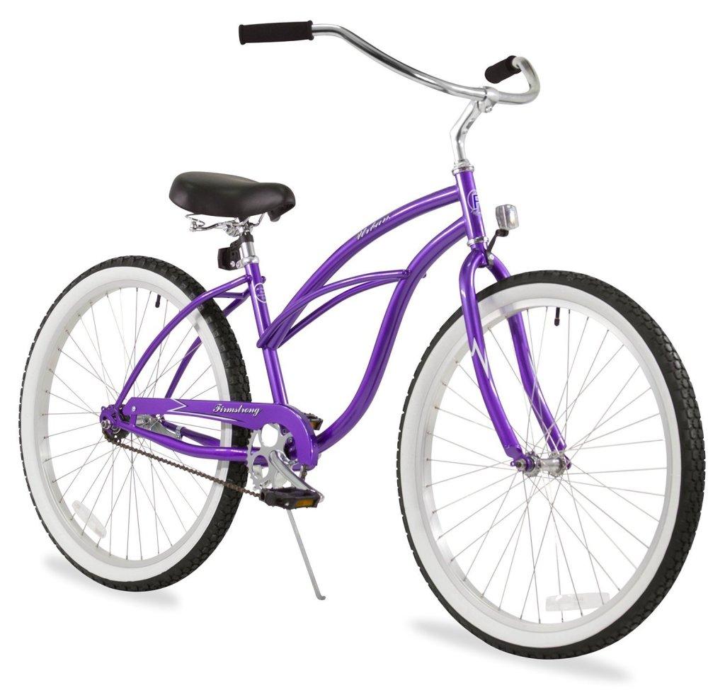 purple bikes for women