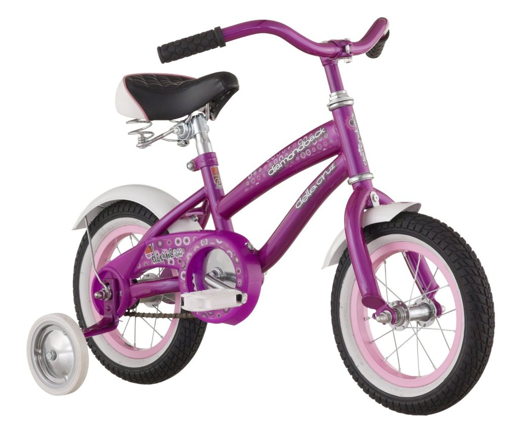 cute purple cruiser bike for 3 year old girls