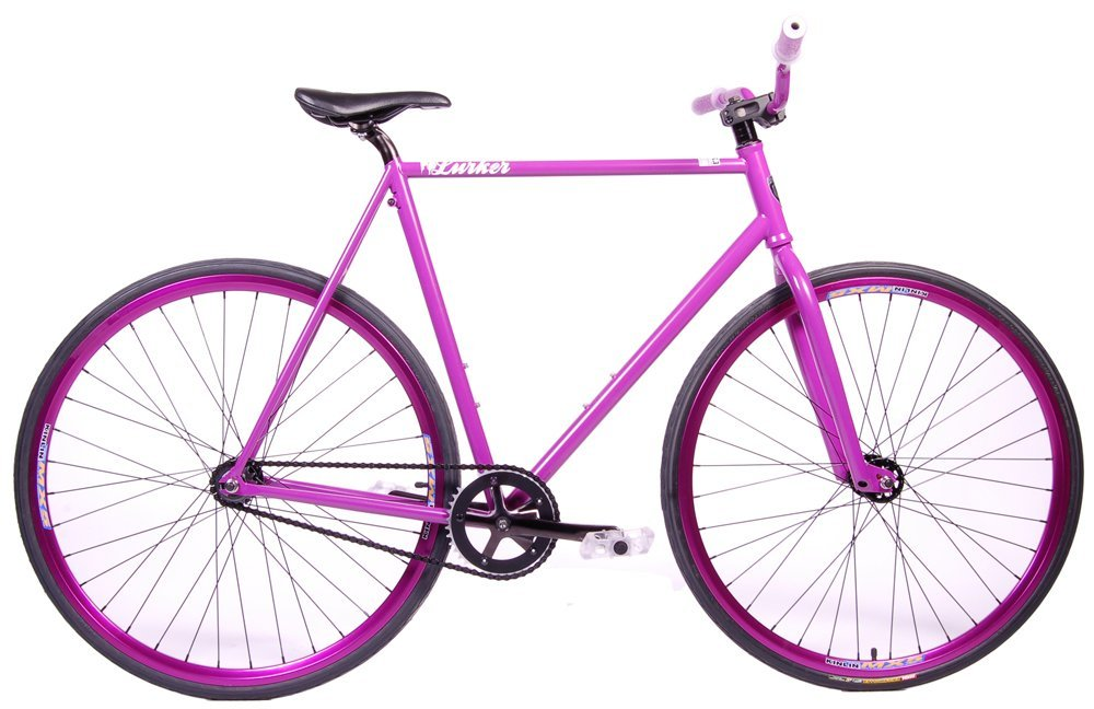 high quality purple road bike