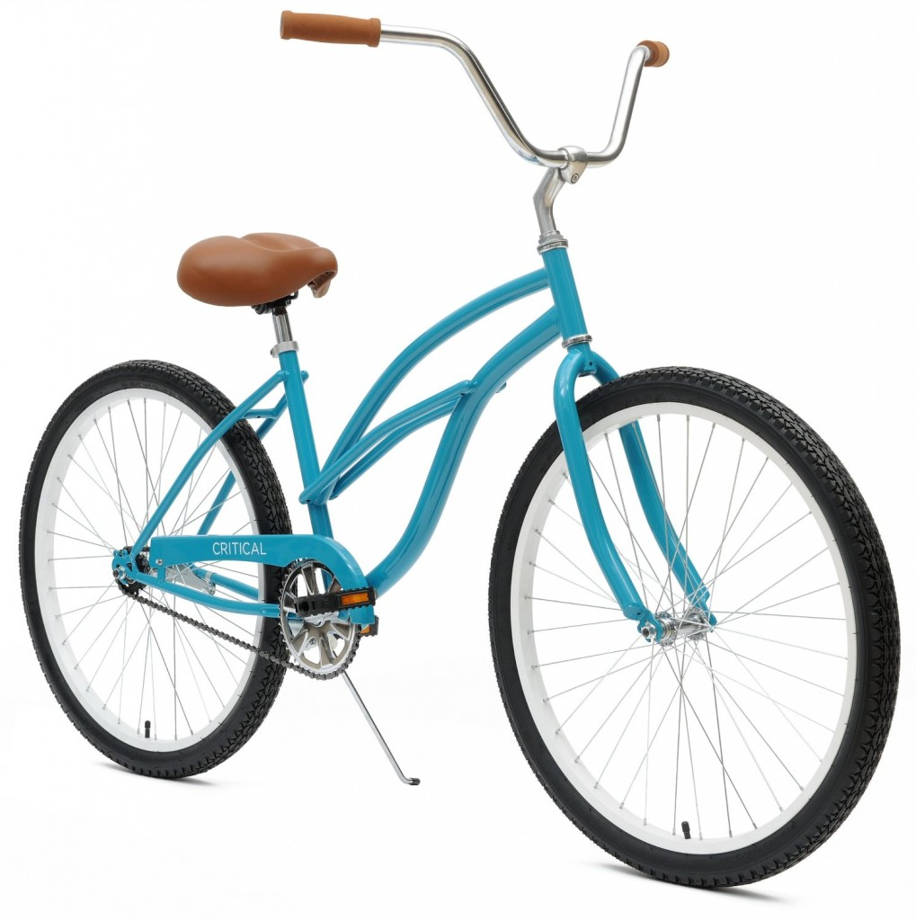 turquoise blue Women's Beach Cruiser 1-Speed Bike