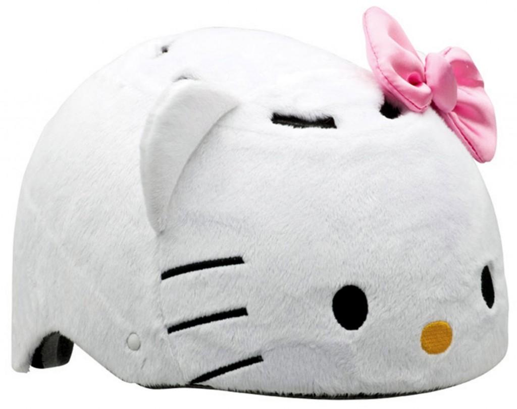 cute Hello Kitty bike helmet