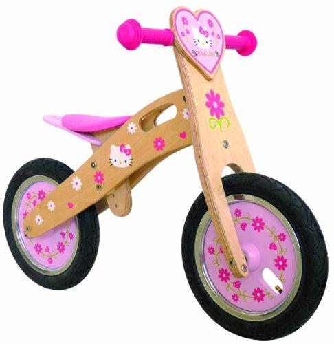 Hello Kitty wooden bike