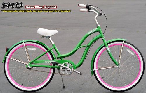 apple green cruiser bike