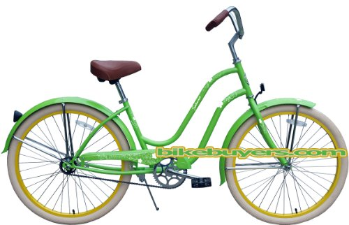cutest green bicycle