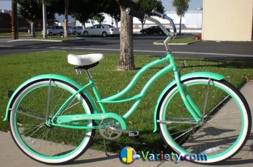 fun beach cruiser bicycle