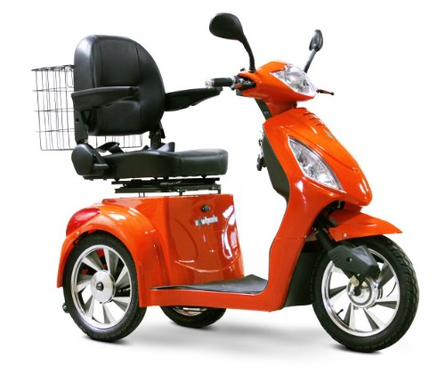 Cool Orange Scooter for Seniors