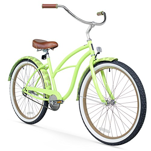 Fun and Beautiful Green Cruiser Bicycle for Women