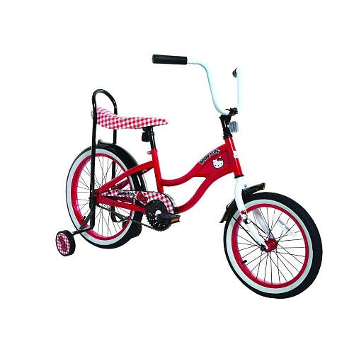 Girls 16 Inch Hello Kitty Limited Edition Retro Style Bike