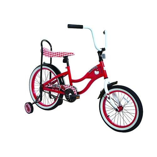 Girls 16 Inch Hello Kitty Limited Edition Retro Style Bike