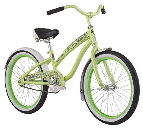 Lime Green 20-Inch Wheels Girl's Cruiser Bike