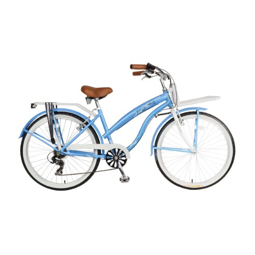 Baby Blue Dutch Style Beach Cruiser Bike