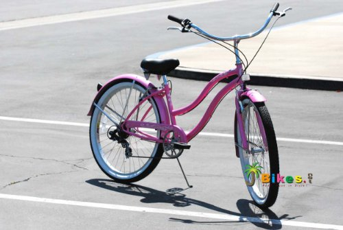 Cute Pink Bicycle for Women