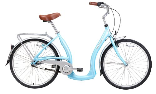 Biria Step Through 3-speed Comfortable Light Blue Cruiser Bike