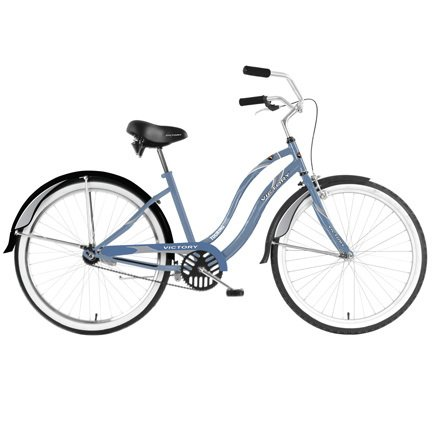Cool Blue Cruiser Bike
