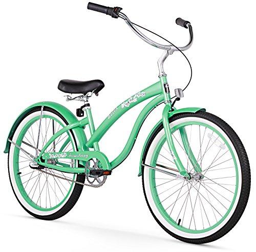 Ladies 3-Speed Shimano Girly Mint Green Bike