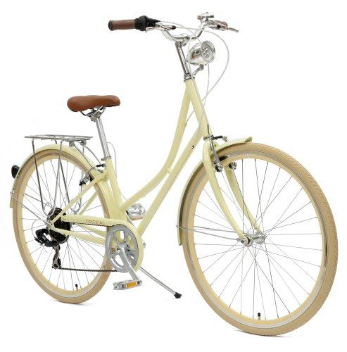Dutch Style Step-Thru 7-Speed Shimano Hybrid Urban Commuter Road Bicycle
