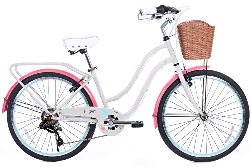 Cute Urban Cruiser Commuter Bicycle for Short Ladies