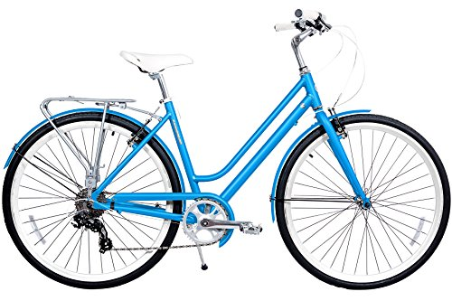 8 Speed Shimano Hybrid Urban Cruiser Commuter Road Bicycle for women