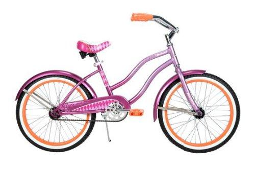 Metallic Purple 20″ Girl's Cruiser Bike