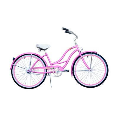 Cute PINK Beach Cruiser Bike for Women