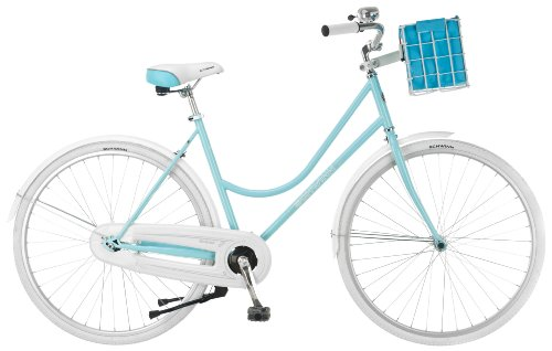 Schwinn Women's Scenic Dutch Bicycle, Light Blue