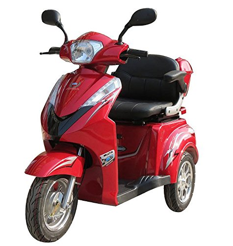 Three Wheel Electric Mobility Scooter 500 Watt Motor