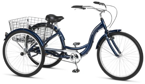 Low Step Through 26-Inch Adult Tricycle
