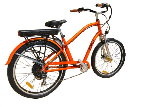 Retro Electric Beach Cruiser Bicycle