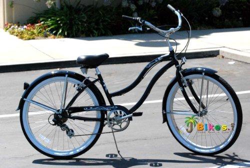 Black Cruiser Bicycle for Women