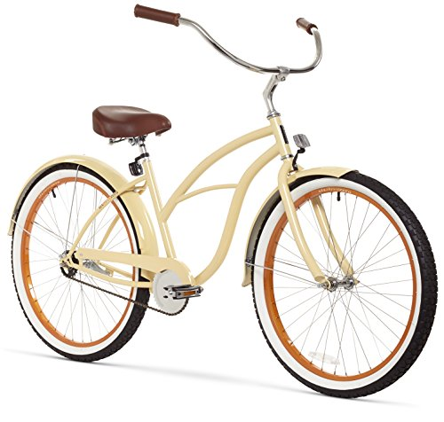 Women's 26-Inch Retro Beach Cruiser Bicycle