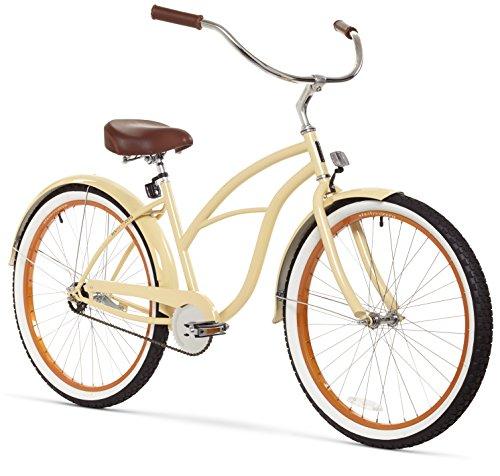 Women's 26-Inch Retro Beach Cruiser Bicycle