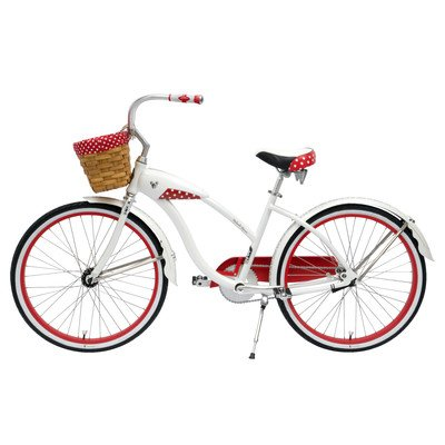 Gorgeous Huffy Minnie Mouse Cruiser Bike