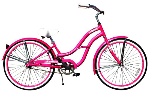Gorgeous Hot Pink, 26″ Beach Cruiser Bike