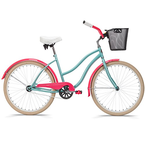 26-Inch Women's Beach Cruiser Bicycle