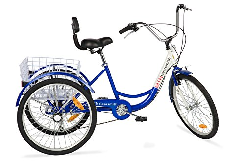 "24"", 6-speed Adult Tricycle"
